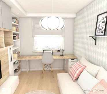 55 Brilliant Workspace Desk Design Ideas On A Budget (54)