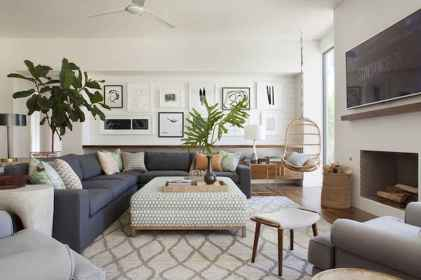 70 Modern Farmhouse Living Room Decor Ideas And Makeover (18)