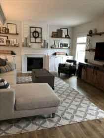 70 Modern Farmhouse Living Room Decor Ideas And Makeover (19)