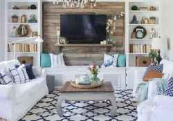 70 Modern Farmhouse Living Room Decor Ideas And Makeover (40)
