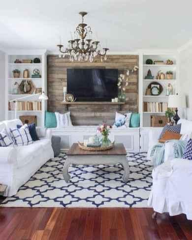 70 Modern Farmhouse Living Room Decor Ideas And Makeover (40)