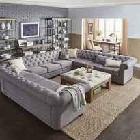 70 Modern Farmhouse Living Room Decor Ideas And Makeover (41)