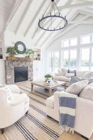 70 Modern Farmhouse Living Room Decor Ideas And Makeover (53)