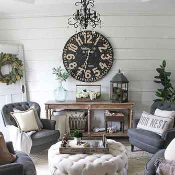 70 Modern Farmhouse Living Room Decor Ideas And Makeover (66)