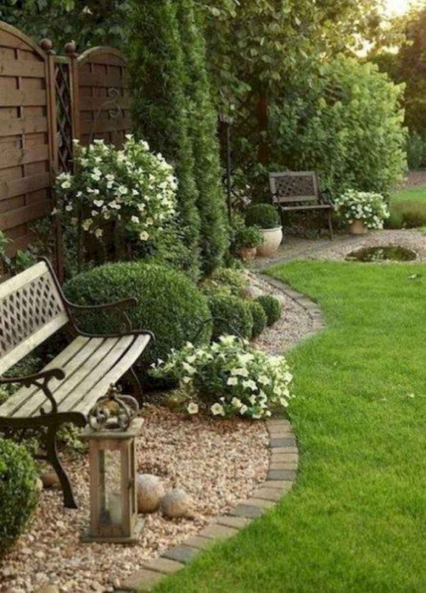 90 Simple and Beautiful Front Yard Landscaping Ideas on A Budget (35)