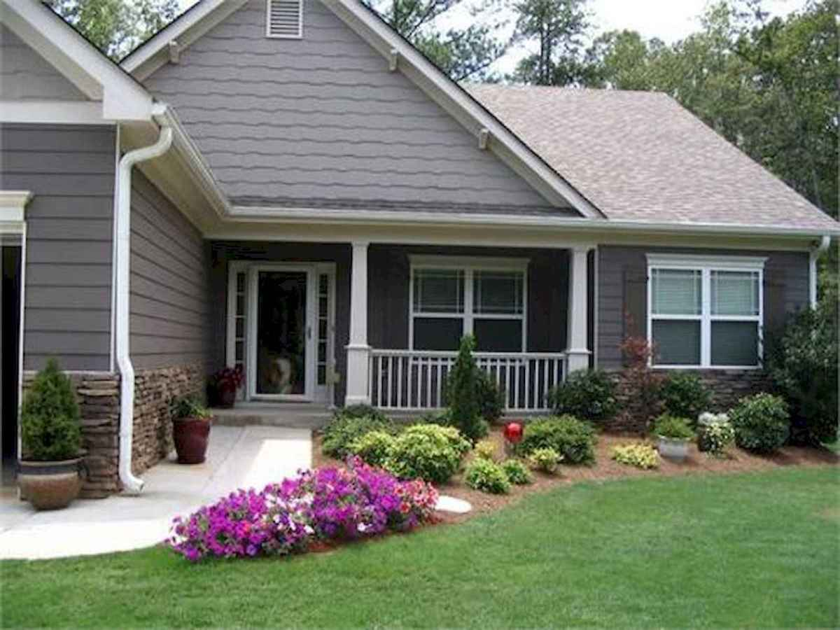 90 Simple and Beautiful Front Yard Landscaping Ideas on A Budget (56)