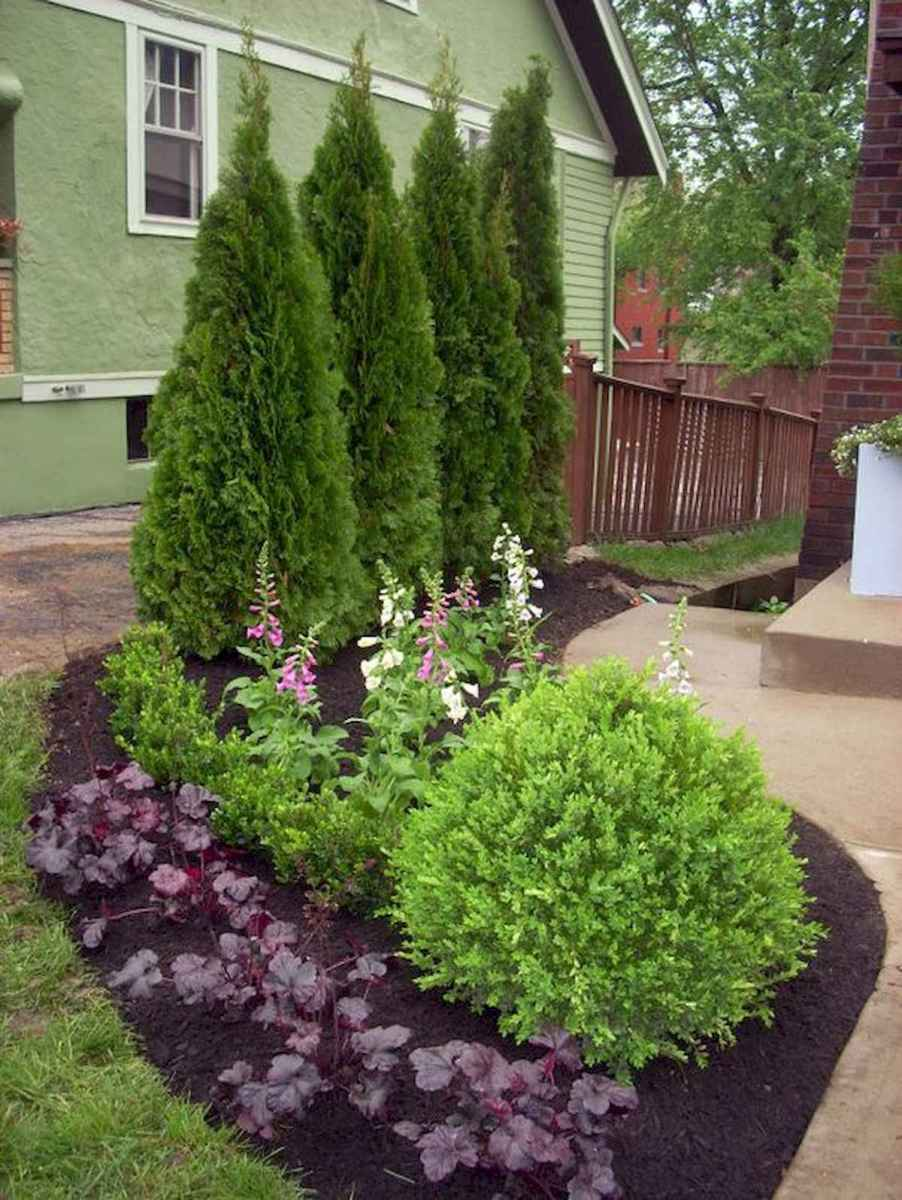 90 Simple and Beautiful Front Yard Landscaping Ideas on A Budget (64)