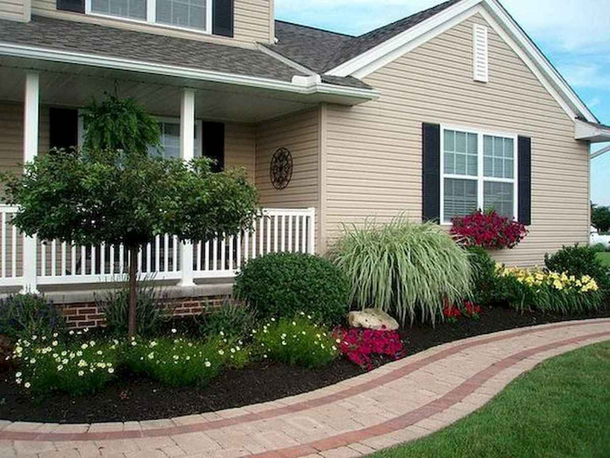 90 Simple and Beautiful Front Yard Landscaping Ideas on A Budget (73)