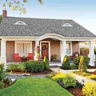 90 Simple and Beautiful Front Yard Landscaping Ideas on A Budget (75)