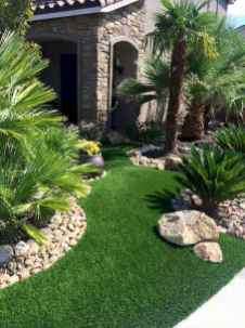 90 Simple and Beautiful Front Yard Landscaping Ideas on A Budget (82)