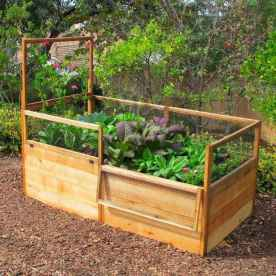 25 Easy DIY Vegetable Garden Small Spaces Design Ideas For Beginner (23)