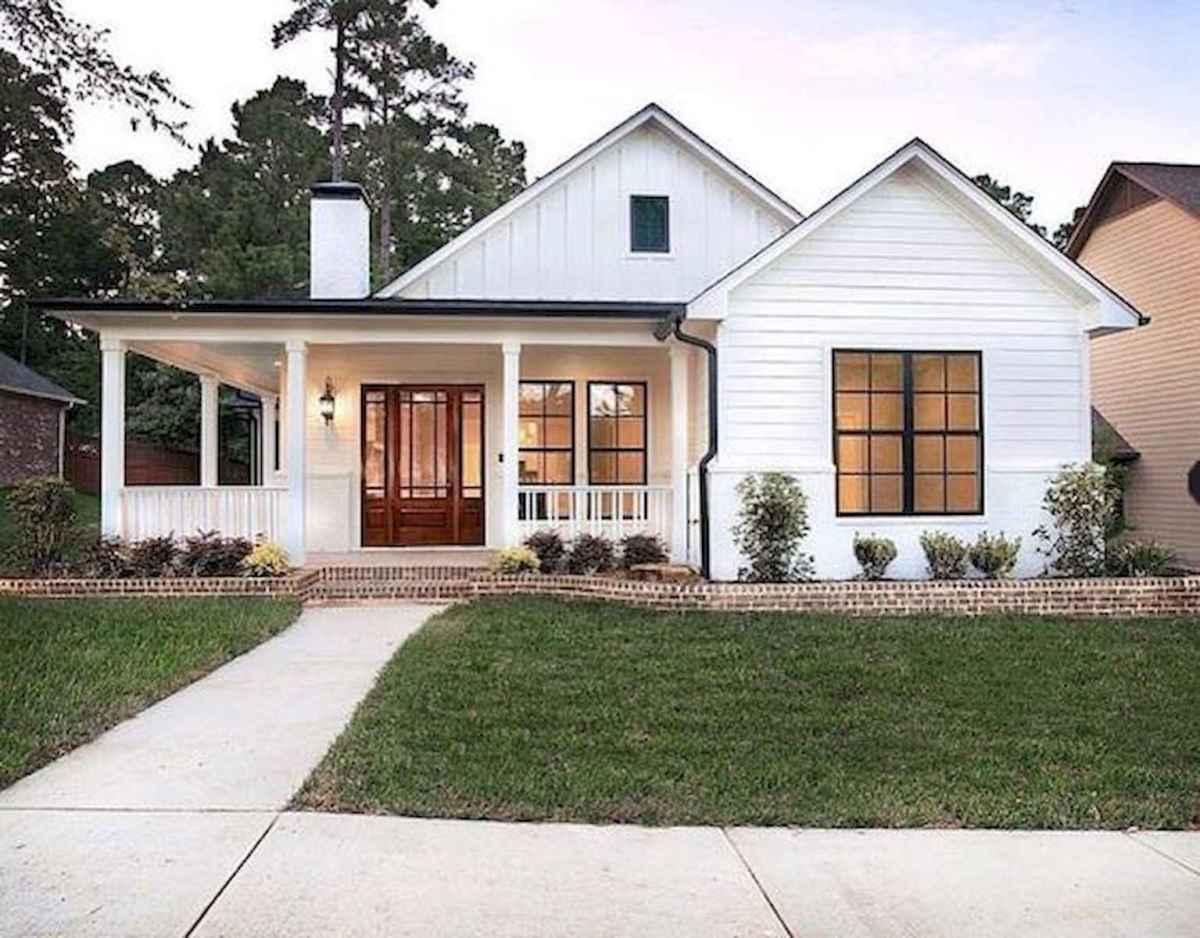 cool modern farmhouse exterior | 33 Best Modern Farmhouse Exterior Design Ideas (17 ...