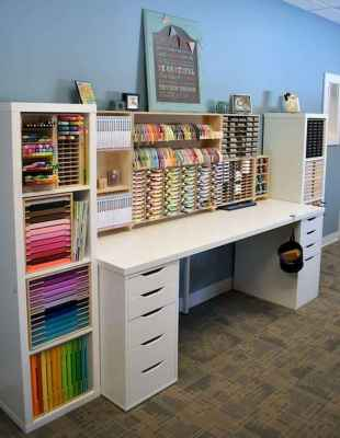 30 Best Art Room And Craft Room Organization Decor (13)