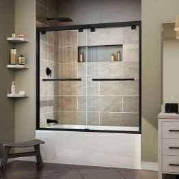 30 Best Farmhouse Bathroom Shower Decor (19)