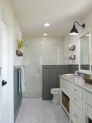 30 Best Farmhouse Bathroom Shower Decor (28)