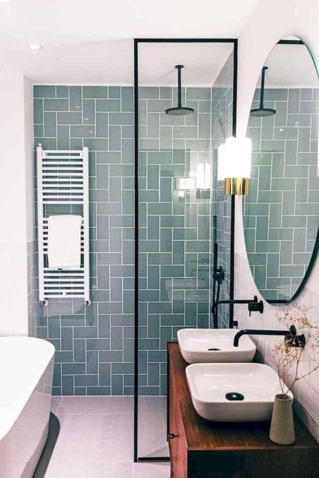 30 Best Farmhouse Bathroom Shower Decor (29)