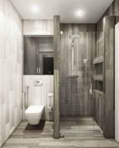 30 Best Farmhouse Bathroom Shower Decor (6)