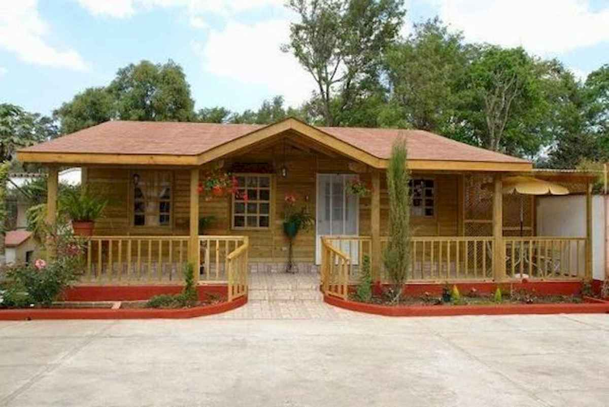 40 Stunning Log Cabin Homes Plans One Story Design Ideas (11)