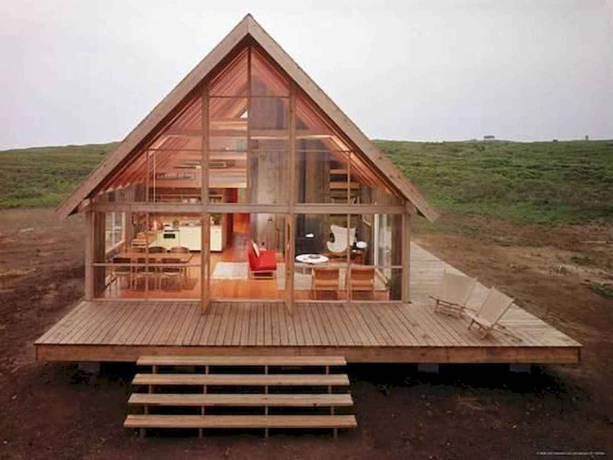 40 Stunning Log Cabin Homes Plans One Story Design Ideas (23)