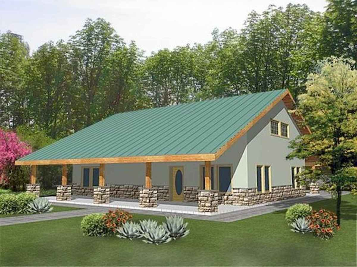 40 Stunning Log Cabin Homes Plans One Story Design Ideas (24)
