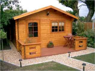 40 Stunning Log Cabin Homes Plans One Story Design Ideas (29)