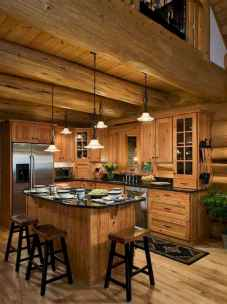 50 Incredible Log Cabin Homes Modern Design Ideas (24)