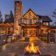 50 Incredible Log Cabin Homes Modern Design Ideas (37)