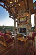 50 Incredible Log Cabin Homes Modern Design Ideas (39)