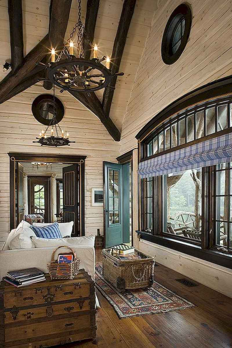 50 Incredible Log Cabin Homes Modern Design Ideas (42)