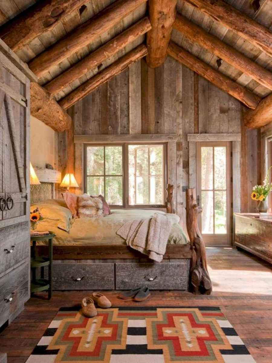50 Incredible Log Cabin Homes Modern Design Ideas (47)