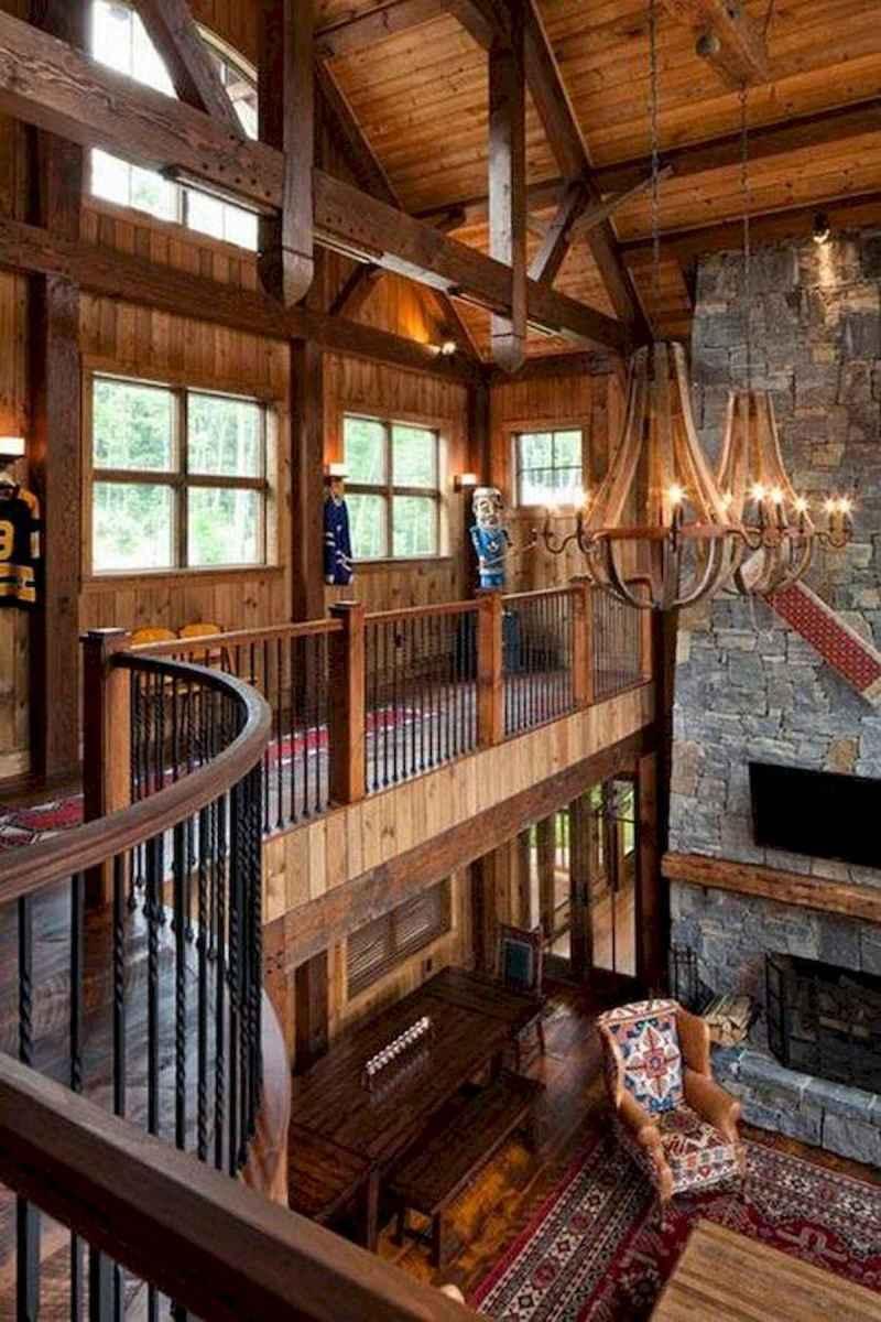 50 Incredible Log Cabin Homes Modern Design Ideas (54)