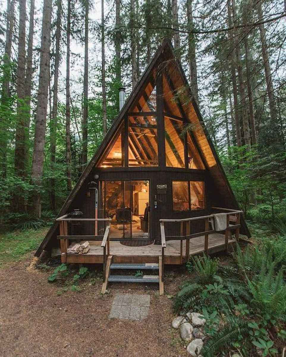 75 Great Log Cabin Homes Plans Design Ideas (17)