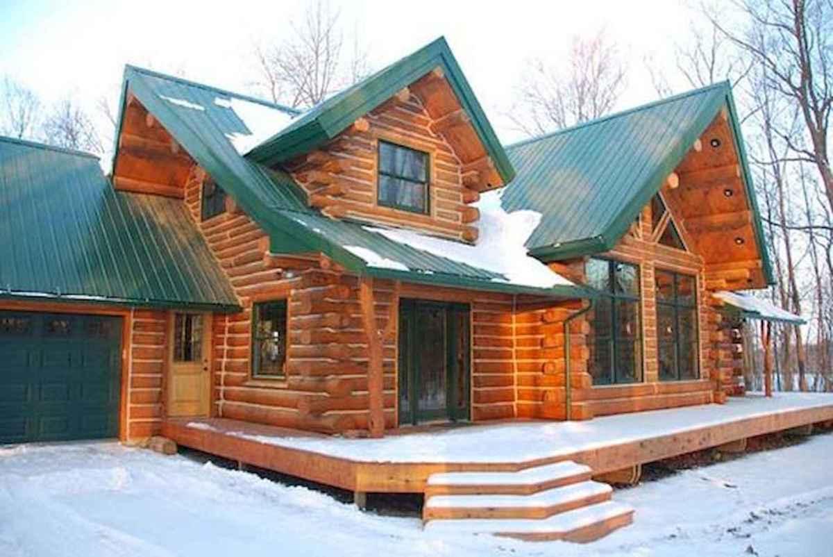 75 Great Log Cabin Homes Plans Design Ideas (21)