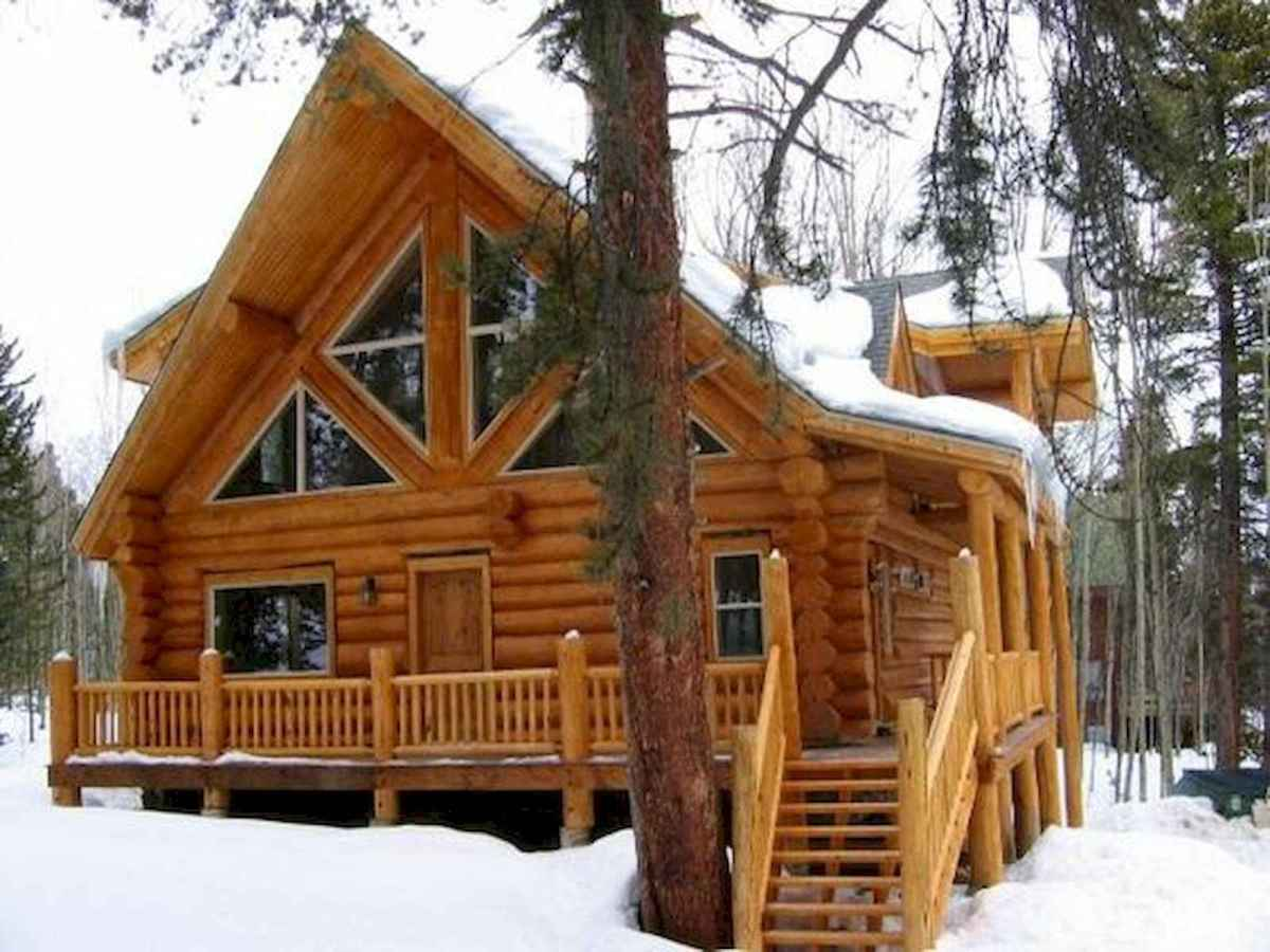 75 Great Log Cabin Homes Plans Design Ideas (25)