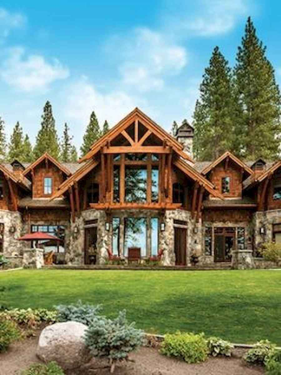 75 Great Log Cabin Homes Plans Design Ideas (32)