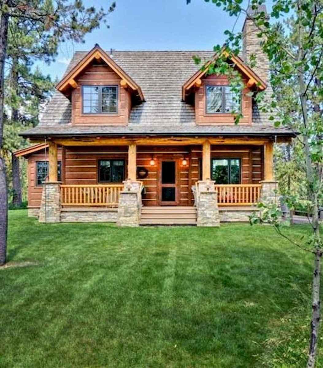 75 Great Log Cabin Homes Plans Design Ideas (4)