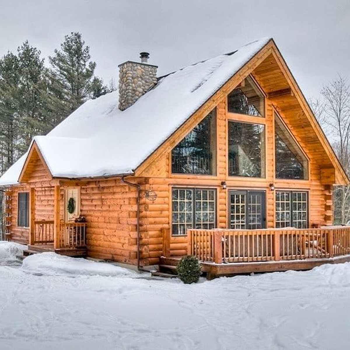 75 Great Log Cabin Homes Plans Design Ideas (43)