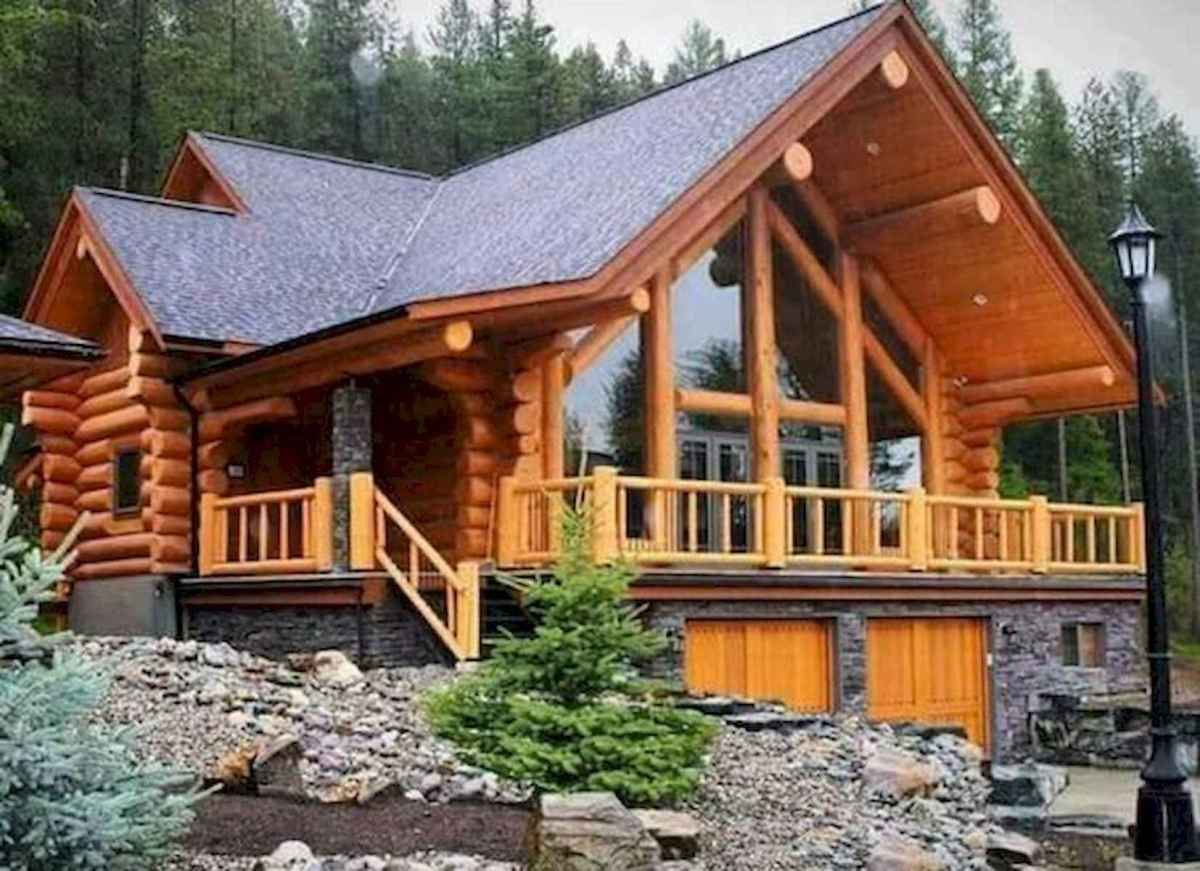 75 Great Log Cabin Homes Plans Design Ideas (45)