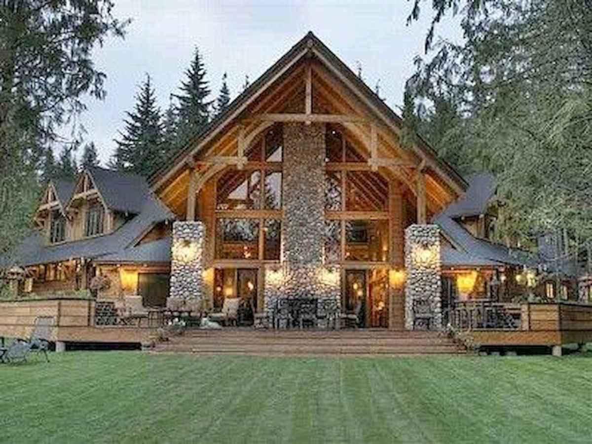 75 Great Log Cabin Homes Plans Design Ideas (49)