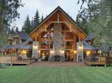75 Great Log Cabin Homes Plans Design Ideas (49)