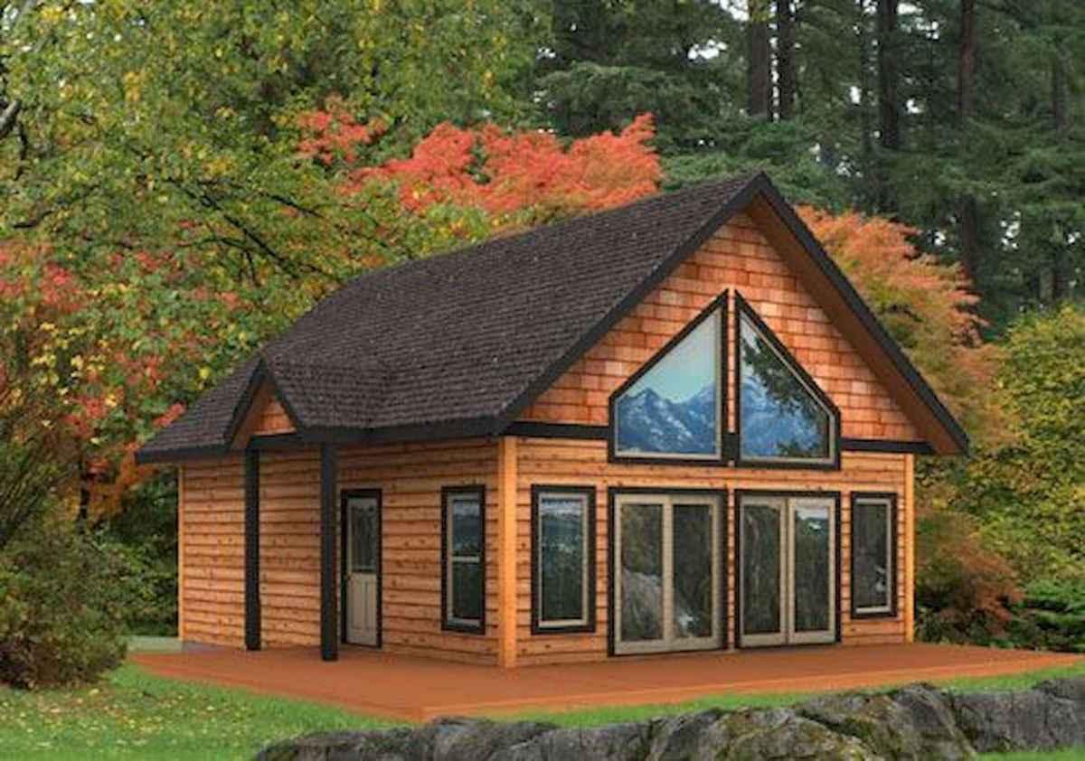 75 Great Log Cabin Homes Plans Design Ideas (50)