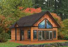 75 Great Log Cabin Homes Plans Design Ideas (50)