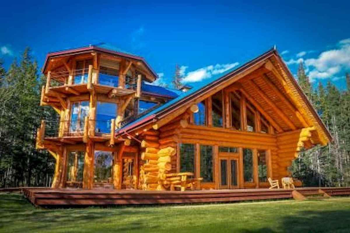 75 Great Log Cabin Homes Plans Design Ideas (52)