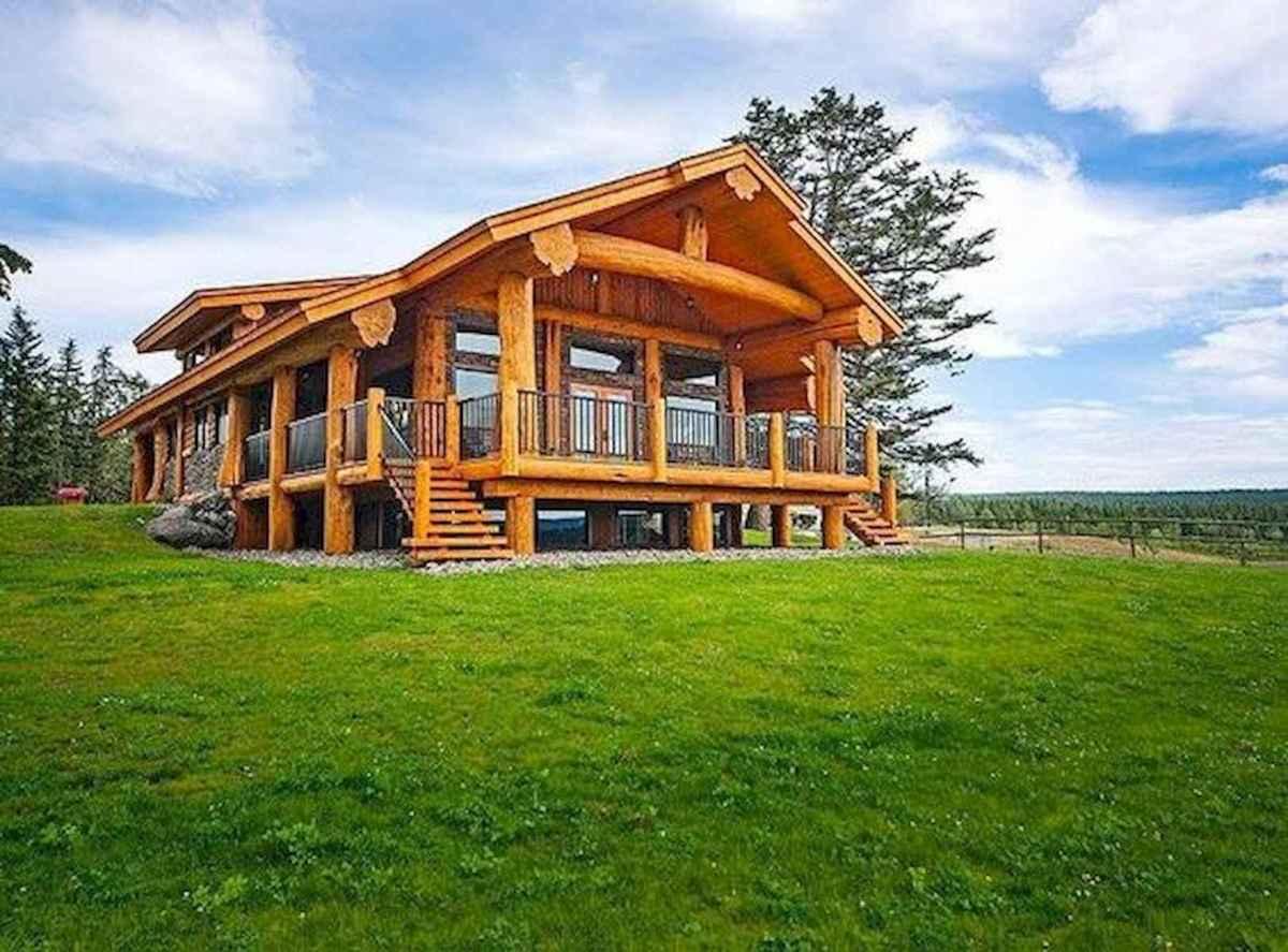 75 Great Log Cabin Homes Plans Design Ideas (63)