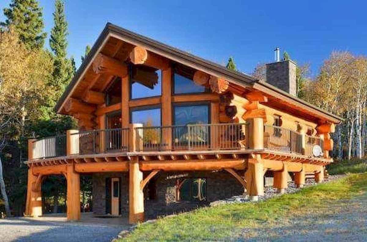 75 Great Log Cabin Homes Plans Design Ideas (64)