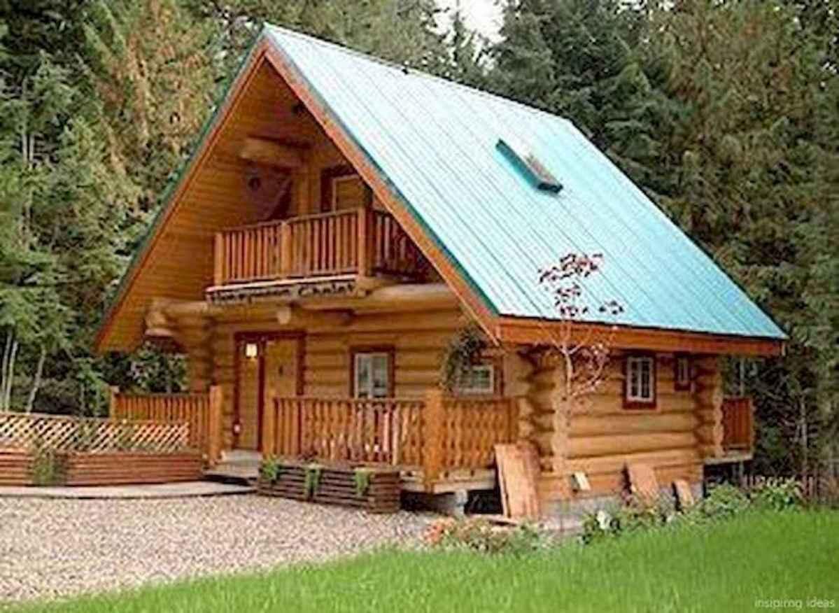 75 Great Log Cabin Homes Plans Design Ideas (68)