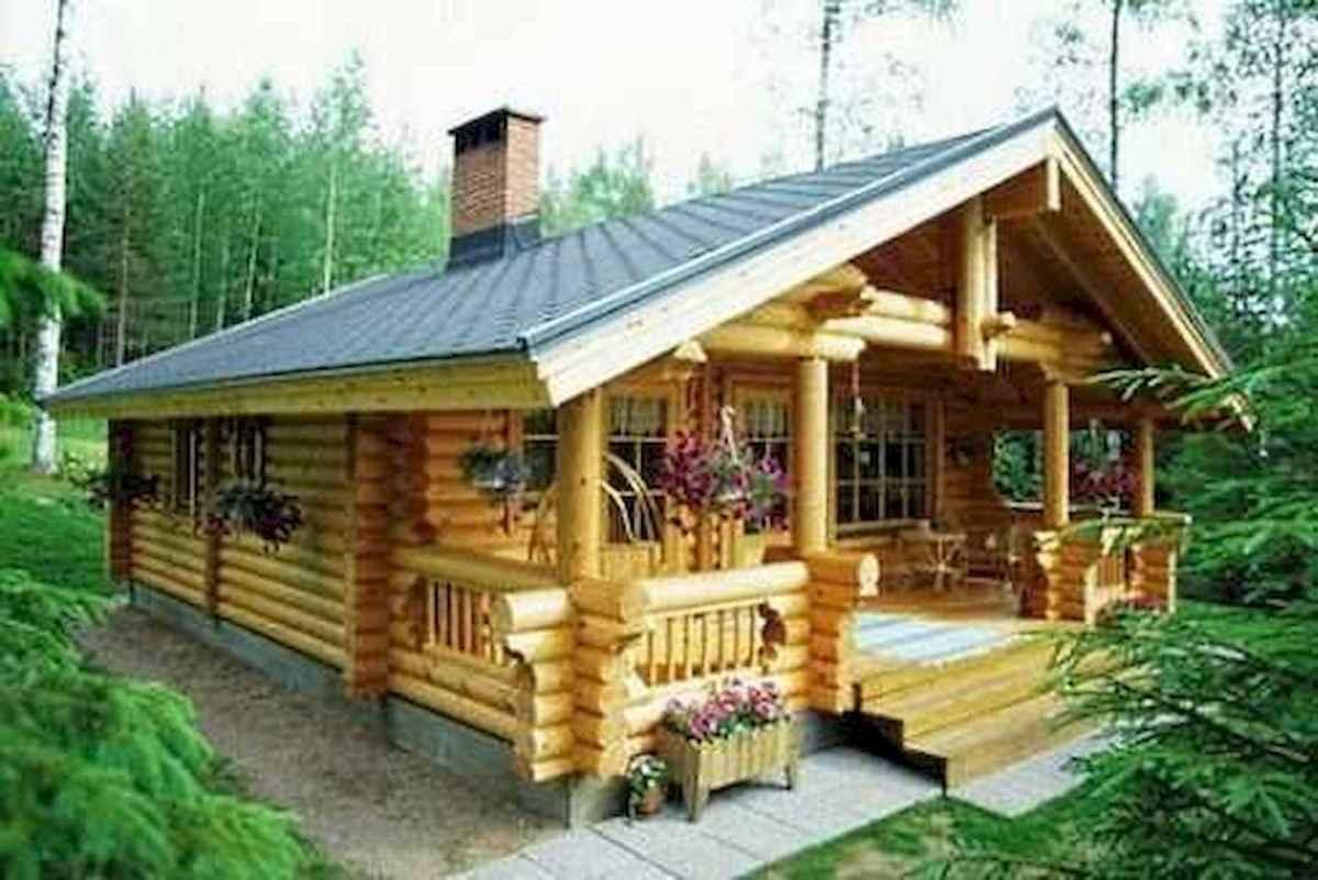 75 Great Log Cabin Homes Plans Design Ideas (69)