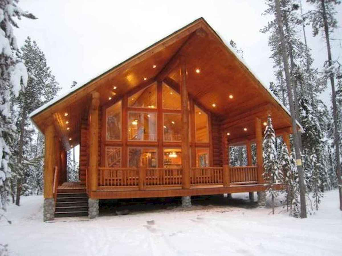 75 Great Log Cabin Homes Plans Design Ideas (70)