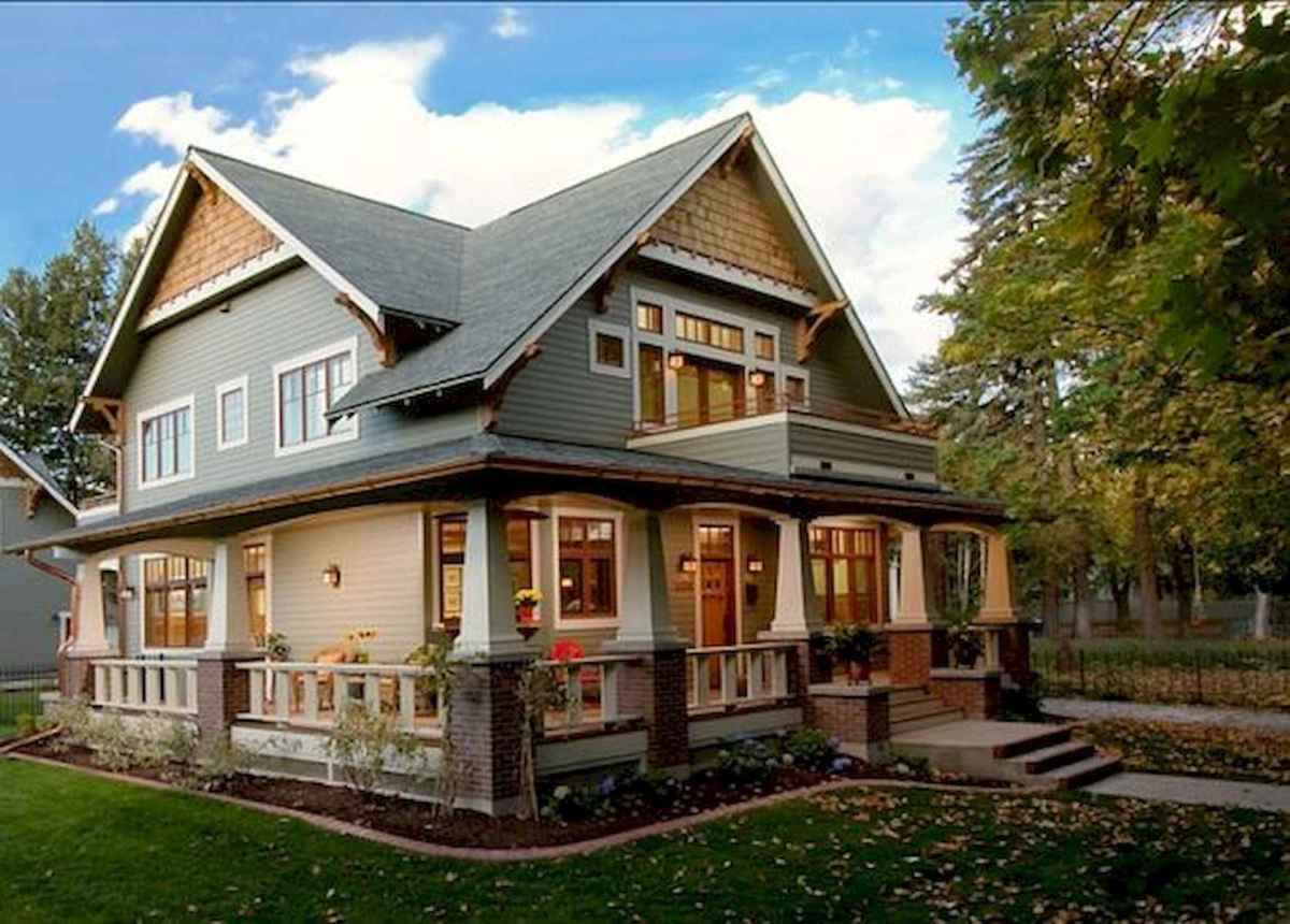 40 Amazing Craftsman Style Homes Design Ideas 22