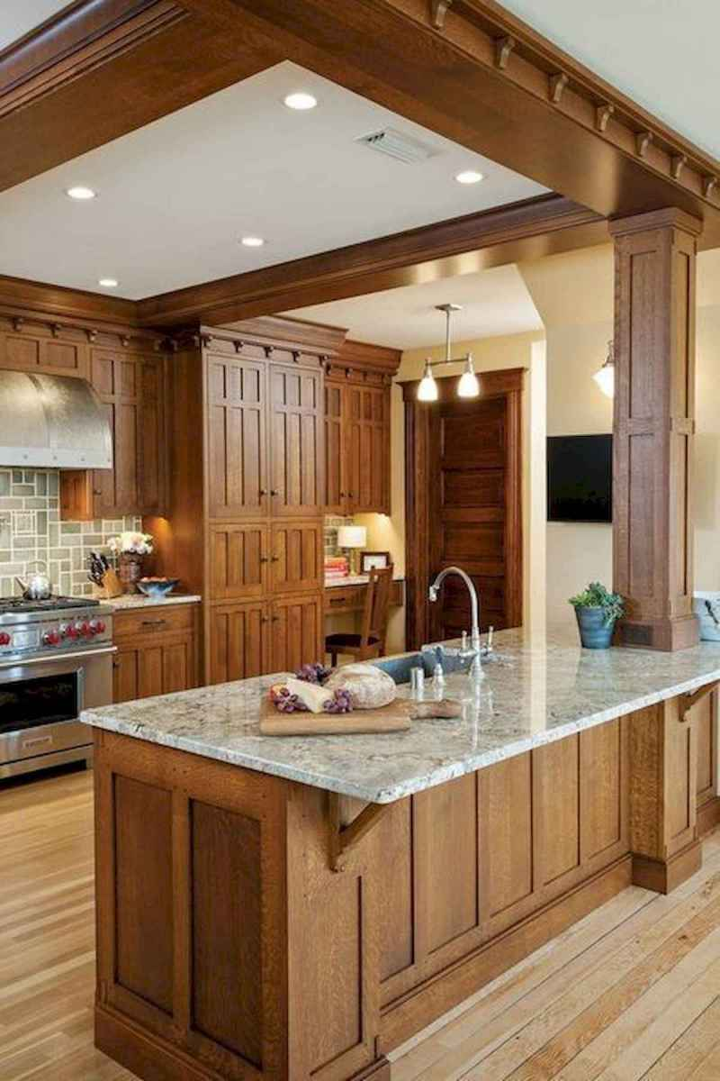40 Awesome Craftsman Style Kitchen Design Ideas (39)